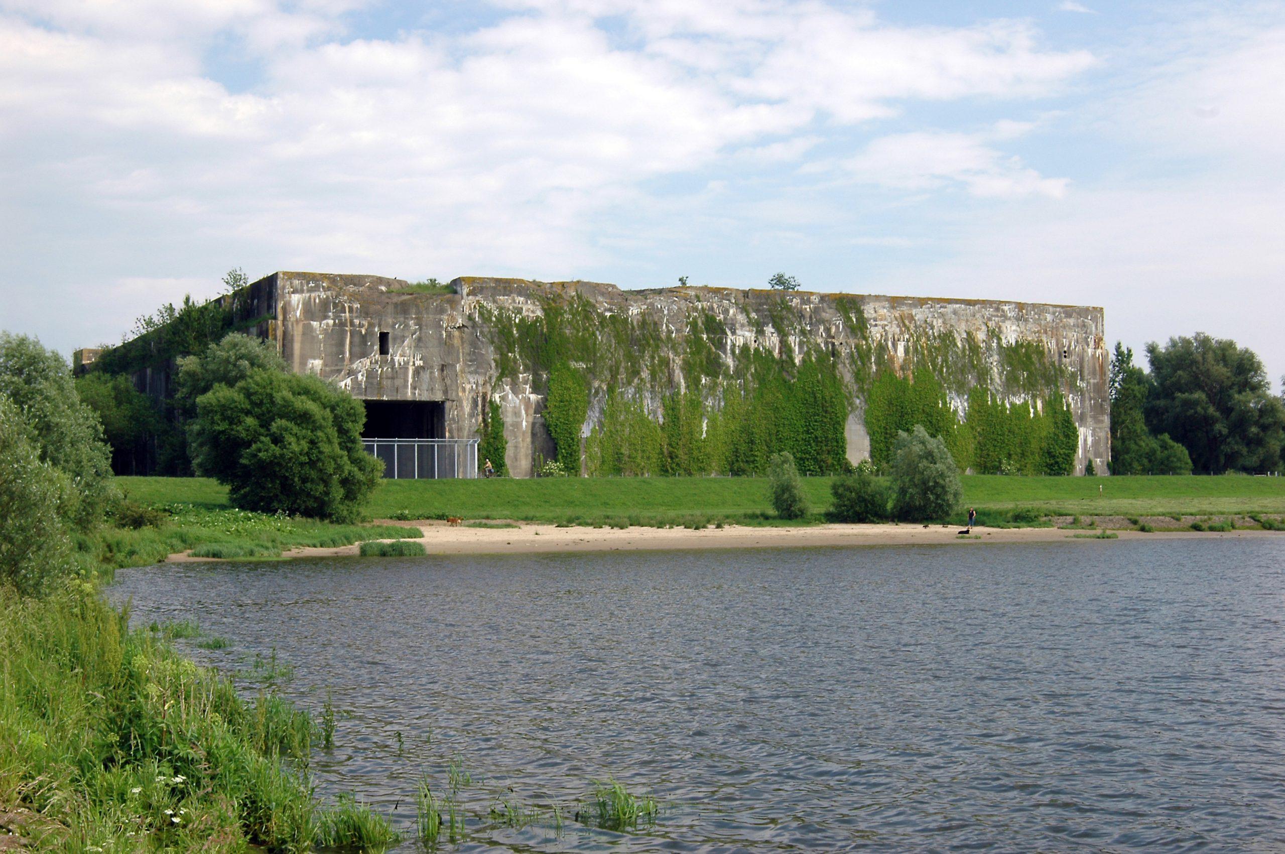 Eine Aufnahme vom Denkort Bunker Valentin in Bremen.