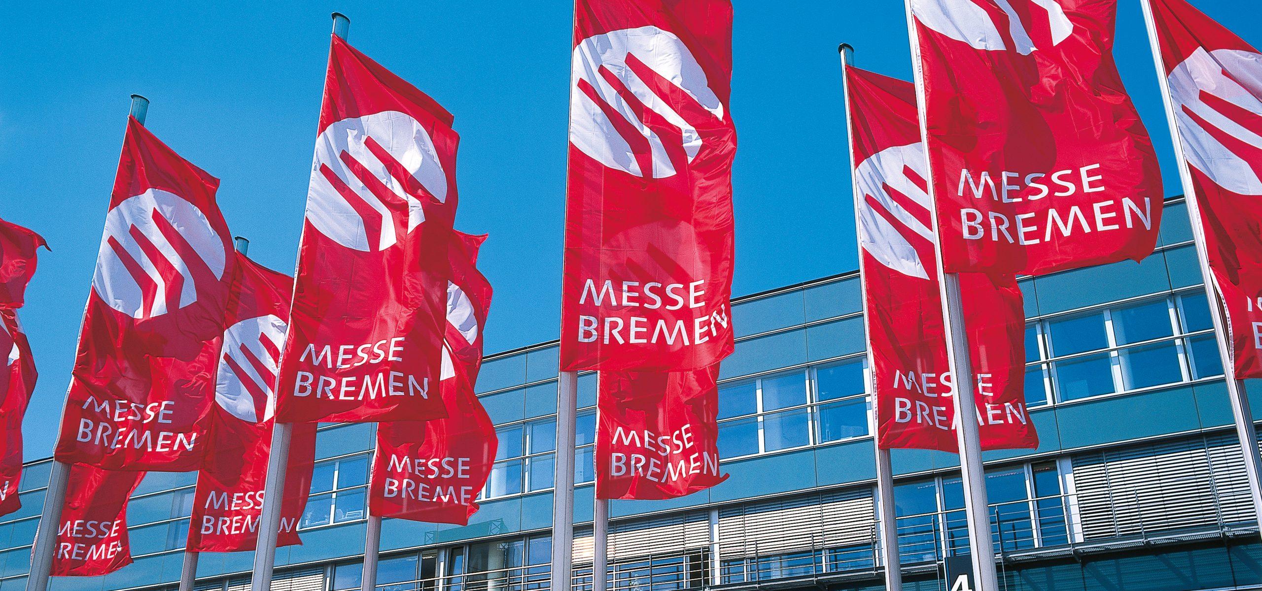 Die Messe in Bremen.